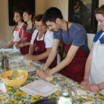 students - cooking class